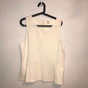 BNWT JCREW peplum top size xl